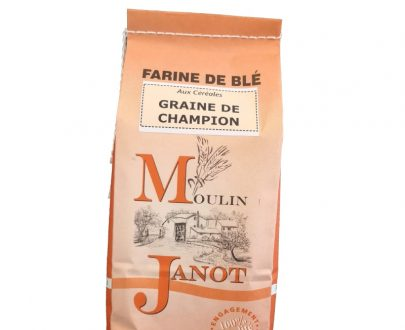 "Farine ""Graine de champion"" - Moulin Janot - 1kg"