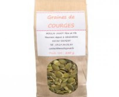 Graines de courge - Moulin Janot - 250g